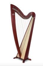 Camac 34 String Telenn Harp in Mahogany + Camac Bag + Camac Dust Cover + Tutor