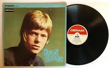 David Bowie - Self Titled - 1967 US 1st Press Deram Stereo VG++ Ultrasonic Clean