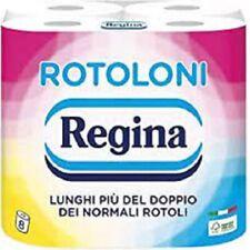 Rotoloni Regina Carta Igienica Confezione da 28 Maxi Rotoli 500 Strappi a Rotol