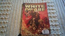 White Dwarf magazine WD278 March 2003 Warhammer, Lord of the Rings, games worksh