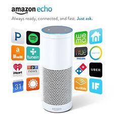 Amazon Echo WHITE - Alexa Personal Assistant Digital Media Streamer
