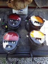 military led taillight turn signal set humvee hummer m35 m998 truklite black