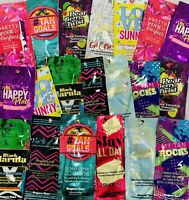 Supre Tan Indoor Tanning Lotion Sample Packets *Lot of 10* Different Samples