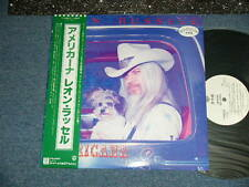 LEON RUSSEL Japan 1978 White Label PROMO NM LP+Obi AMERICANA