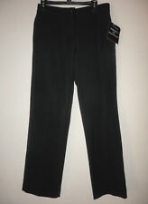 NWT SAG HARBOR Womens Missy 8 Dress Pants Flat Stretch Perfect Fit Waistband