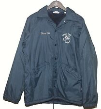 Hartwell Grand Prairie Fire Department Nylon Lined Jacket USA Made Sz M (38-40)