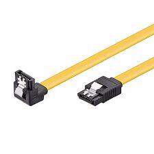 SATA 6 Gb/s Kabel gewinkelt Sicherheitslasche s-ATA SATA SSD CAK 0,5 m