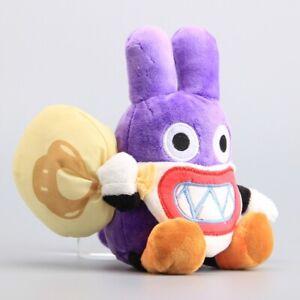 Super Mario Bros Nabbit Thief Rabbit Plush Toy Stuffed Animal Doll 19cm Gift