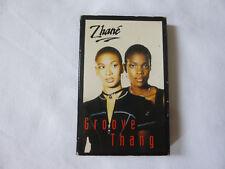 ZHANE ~ GROOVE THANG ~ RARE MOTOWN 1994 UK SOUL/RnB CASSETTE TAPE SINGLE