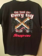 Snap-on Tools T-shirts, Harley Davidson, Black, NEW in package, Sizes M, L, XL