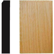 (Box of 10) 7/8X3-1/2X6 Door and Window Molding Oak Plinth Block