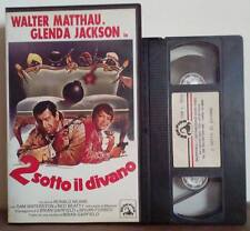 VHS FILM ITA Commedia 2 SOTTO IL DIVANO walter matthau 9513 no dvd(VHS15)