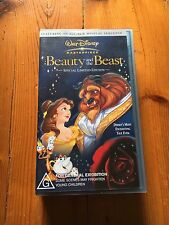 Disney Beauty And The Beast VHS New Sealed Rare Collectable. Pal Video