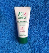 Etude House AC Clean Up Pink Powder Mask 20mls For Acne Prone Skin - MELB SELLER