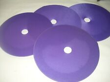 old School NOS uni Purple wheel discs bmx freestyle bike 20 inch cloth