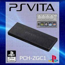 Oficial Sony PS Vita 2 en 1 Juego + Soporte de tarjeta de Memoria Estuche Protector