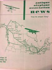 Antique Airplane News Magazine Alaska To Massachussetts May 1961 082217nonrh
