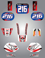 Full Custom Graphic Kit Honda QR 50  All years STORM style decals/stickers