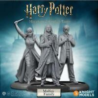 Knight Models Harry Potter Miniatures Game Pack Malfoy Family in stock now