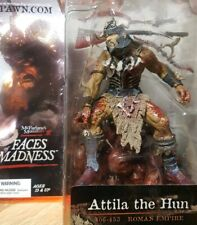 McFarlane's Monsters 6 Faces of Madness Attila The Hun NEW! 2004