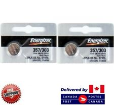 0% Mercury Sr44Sw 303/357 Cdn Seller 2 Pcs Energizer 303 Watch Batteries