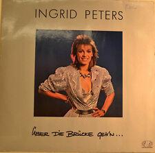 """INGRID PETERS - ÜBER DIE BRÜCKE GEH`N 12""""  LP (U229)"""