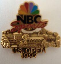 "1997 NBC Sports ""US OPEN"" Golf Championship VIP Guest Media Pinback"