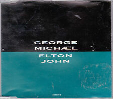 MAXI CD GEORGE MICHAEL ELTON JOHN DON'T LET THE SUN GO DOWN ON ME 4T DE 1991