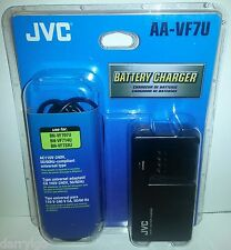 *GENUINE* JVC AA-VF7U Battery Charger OEM *NEW IN OPENED RETAIL PACKAGE* SAVE!