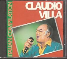 CD 516 CLAUDIO VILLA ITALIAN COMPILATION