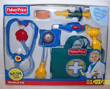 Fisher-Price Medical Doctor Nurse Kit Children Blue NEW Quick Ship!!