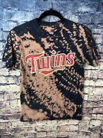 Minnesota Twins Adult Sz AmaTShirt Tie Dye Baseball⚾️vintage Free Shipping Look