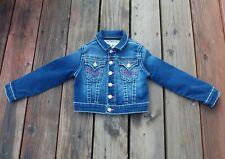 True Religion Nat Big T Denim/Jean Jacket Toddler Girl's Size 4