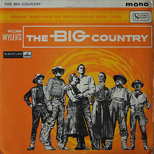 OST vinyl  LP record - The Big Country - Jerome Moross