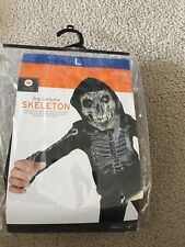 Skeleton Kids Costume Size Large
