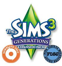 The Sims 3 Lebensfreude Generations Origin Code CD KEY