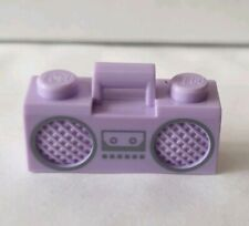 Lego Minifigure Parts / Accessories - Lilac Beat Box - Cassette Player - NEW