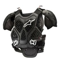 Alpinestars Bionic Armour ACU CE Approved EN1621 Chest Protector Black Adults