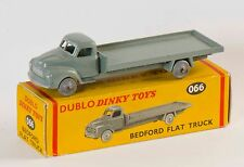 Dinky Dublo 066 Bedford Flat Truck. Grey. MINT and Boxed/Original 1950s