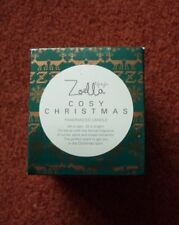 Zoella Cosy Christmas Fragranced Candle Winter Spice & Sweet Cinnamon Lifestyle