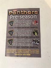 Nottingham Panthers V Cardiff-Krefeld-Braehead 2017 ice hockey programme