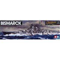 Tamiya 1/350 Ship Series No.13 German WWII Battleship Bismarck Model Kit 78013