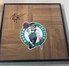 Boston Celtics BRAD STEVENS Signed Framed Floorboard 12x12