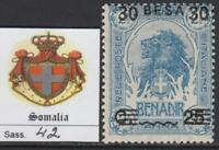 ITALY SOMALIA 1923 Definitive overprinted - Sass. n.42  cv 100$  MNH**