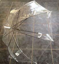 Quality Womens Clear Standard Transparent Umbrella Romantic Wedding 92cm