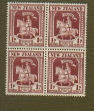 New Zealand  Scott B7 MNH Block of 4