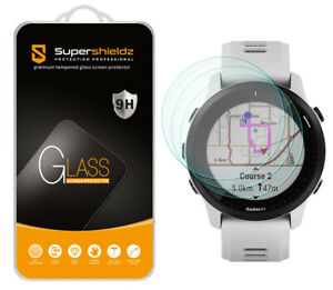 3X Supershieldz Tempered Glass Screen Protector for Garmin Forerunner 945 LTE