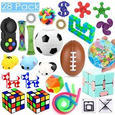 28 Pack Sensory Toys Set, Relieves Stress and Anxiety Fidget Toy for Children...