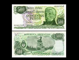 ARGENTINA 500 PESOS P 303 1977-1982 UNC