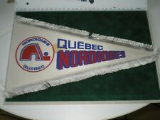 Vintage Pennant Quebec Nordiques * World Hockey Association / NHL
